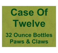 Dr. Ben's Paws & Claws, Flea & Tick Treatment Case of Twelve-32 ounce bottles
