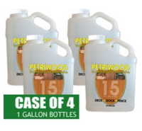 Petriwood Termite Treatment, One Case of 4 Gallons