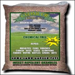 supercharged cedar oil granules